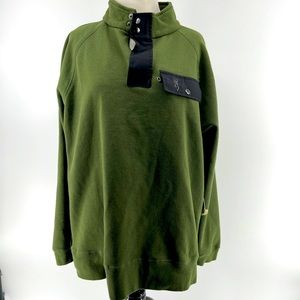 Men's large browning pull over